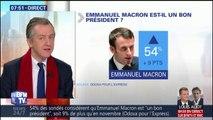 """ÉDITO – La popularité de Macron remonte en flèche, """"une cote d'espoir"""""""