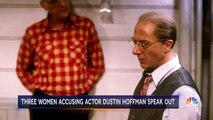 Les femmes qui accusent Dustin Holffman parlent à la TV