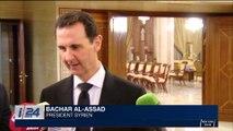"""Syrie: Bachar al-Assad accuse la France de """"soutien au terrorisme"""""""