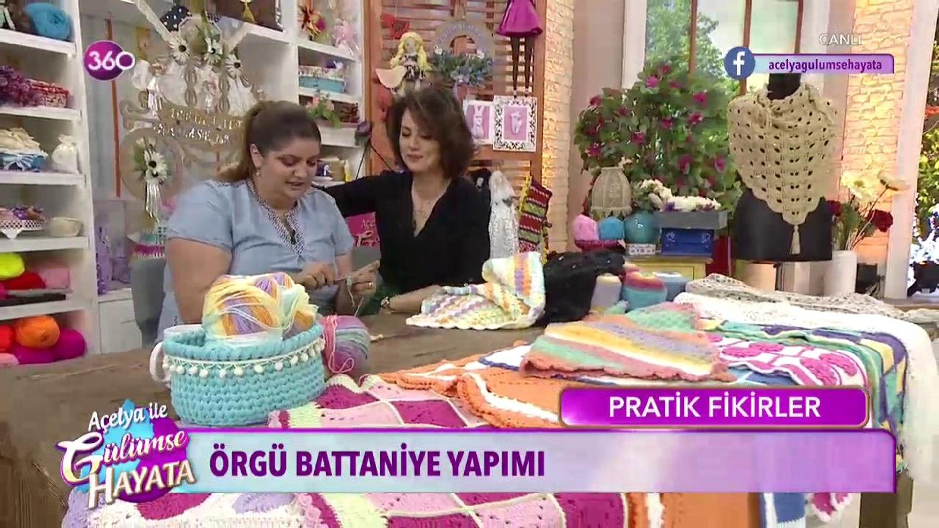 Örgü battaniye yapımı