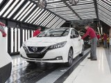 Nissan débute la production de la nouvelle Leaf en Europe