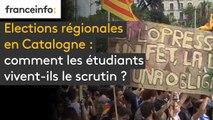 Elections régionales en Catalogne : comment les étudiants vivent-ils le scrutin ?