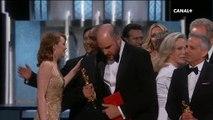 """Oscars 2017 : """"La La Land"""" annoncé film de l'année par erreur !"""