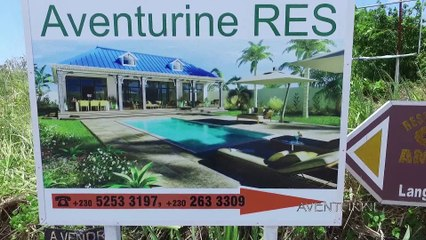 Notre nouvelle résidence à l'ile maurice