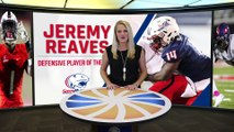 2017 Sun Belt Conference Defensive Player of the Year:Jeremy Reaves