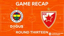 Highlights: Fenerbahce Dogus Istanbul - Crvena Zvezda mts Belgrade