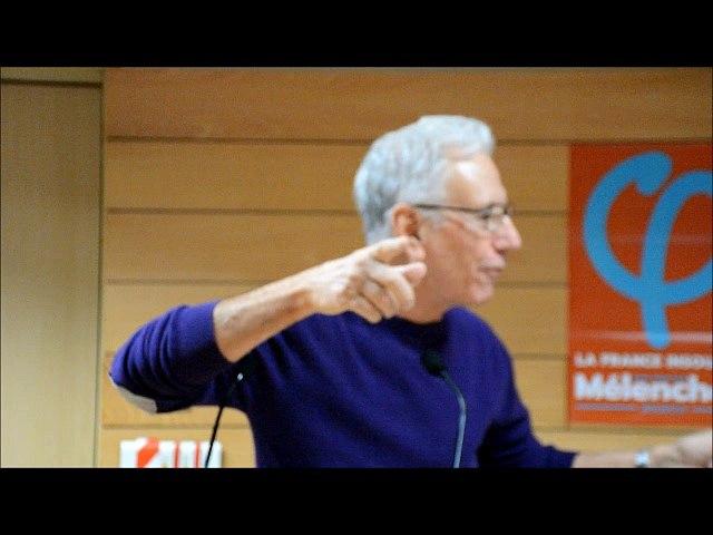 Henri Peña Ruiz invité au Conseil National du PG le 17/12/2017