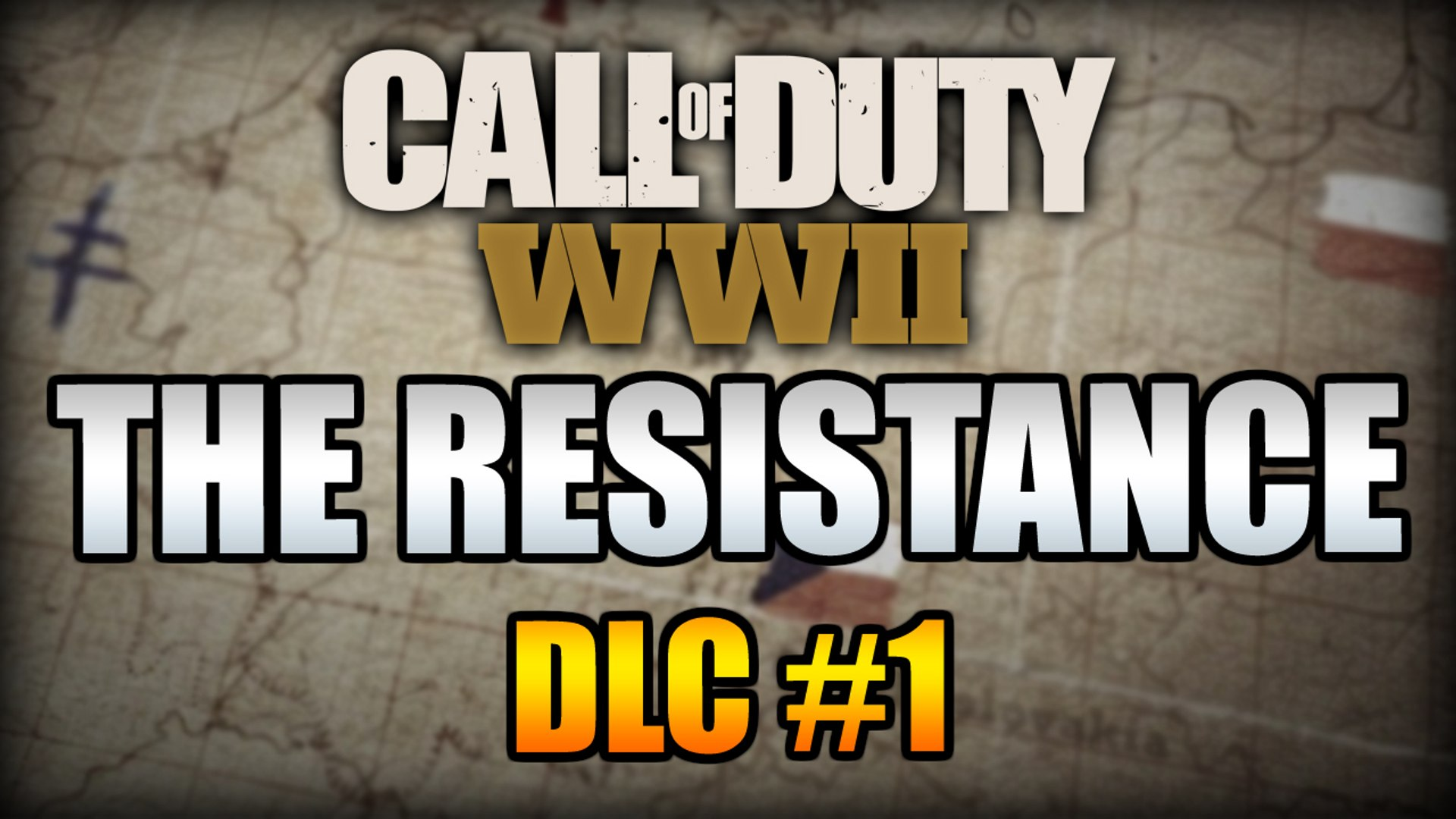 COD WW2 DLC #1 THE RESISTANCE // 3 NEW MAPS, 1 Map Remake, New