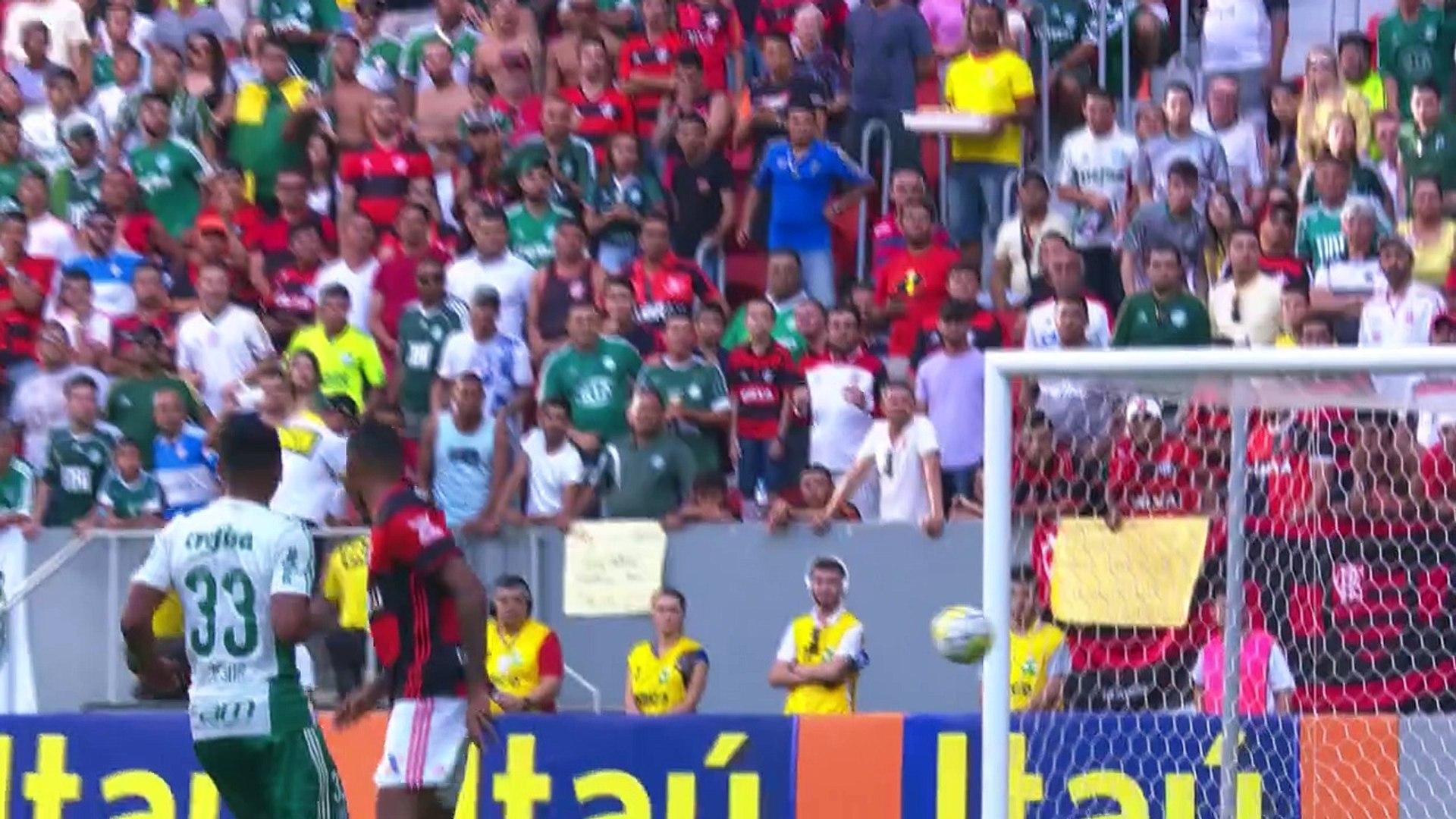 06 Rodada - Flamengo 1x2 Palmeiras (Campeonato Brasileiro 2016)