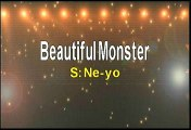 Ne-Yo Beautiful Monster Karaoke Version