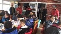Çocukların Erciyes hayalini Erciyes Jandarma gerçekleştirdi