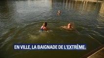 3°C à l'extérieur, 5°C dans l'eau. À Paris, ces nageurs préfèrent le canal à la piscine