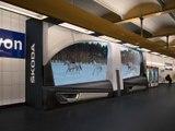Skoda : un voyage en Karoq dans le métro parisien