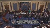 El Senado de EE.UU. aprueba la bajada impositiva de Trump