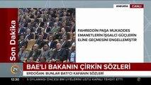 Cumhurbaşkanı Erdoğan: Haddini bil! Sen Erdoğan'ı tanımamışsın, Erdoğan'ın ceddini hiç tanımamışsın