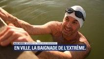 L'eau est à 5°C mais des nageurs n'hésitent pas à plonger en plein Paris, en plein hiver