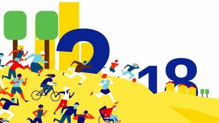Carte de voeux 2018 du ministère des sports