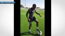 L'entraînement très intensif de Patrice Evra