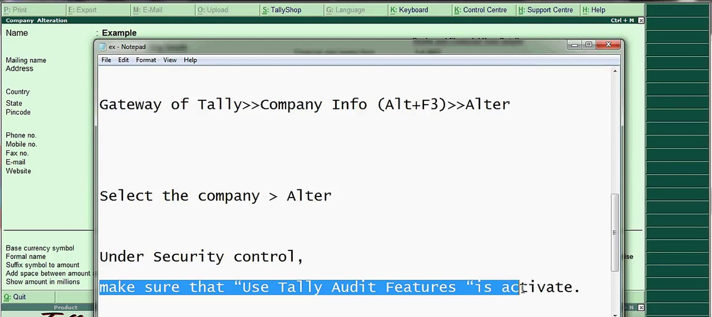 tally erp 7.2 crack download