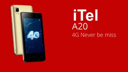 Itel A20, Price Rs  1,590 (Hindi)