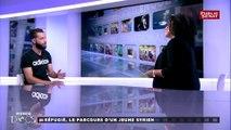 Maher Al Sahhaar, réfugié syrien, est l'invité d'Un monde en docs