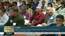 Diputados cubanos analizan la situación económica y política del país