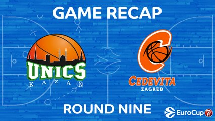 7DAYS EuroCup Highlights Regular Season, Round 9: UNICS 78-61 Cedevita