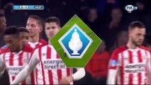 2-1 Marco van GinkelGoal  Holland  KNVB Beker  Round 3 - 20.12.2017 PSV Eindhoven 2-1 VVV Venlo