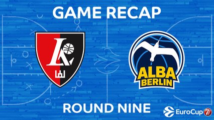 7DAYS EuroCup Highlights Regular Season, Round 9: Rytas 94-73 ALBA