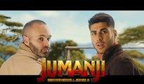 Iniesta et Asensio font la promo de Jumanji en meme temps que le Clasico