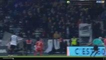 Karl Toko Ekambi Goal - Angers 1-1 Dijon 20-12-2017