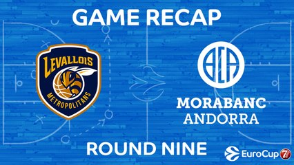 7DAYS EuroCup Highlights Regular Season, Round 9: Levallois 99-92 Andorra