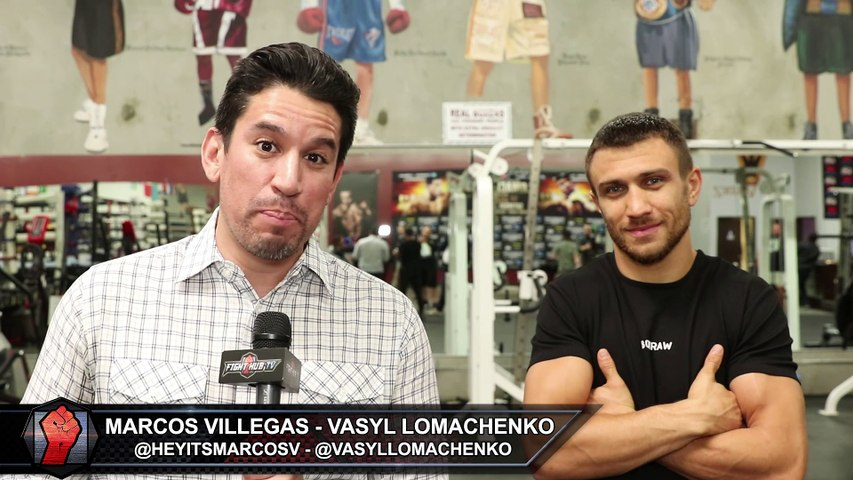 """Vasyl Lomachenko """"After 15 years, I want people to remember my name. I fight for this, I fight for legacy"""""""