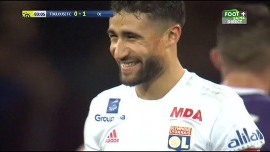 buts toulouse  tfc  0-2 lyon  ol  r u00e9sum u00e9 de match