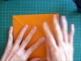 折り紙 クマ しおり 簡単な折り方(niceno1)Origami teddy bear bookmark-mILhEmkb7VM