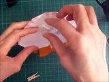 折り紙 クマのバスケット 簡単な折り方(niceno1)Origami teddy bear in the basket-yIX1gvirjRc