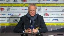 """19e j. - Ranieri: """"Je veux que l'on fasse encore mieux sur la phase retour"""""""
