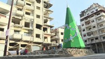 Ravaged by war, Syria's Homs relishes Christmas spirit