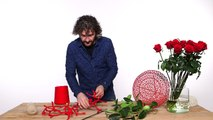Romantic Valentine's Day bouquet _ Flower Factor How to Make _ Powered by Arend Roses-tCDNaX1BbpU