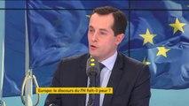 """Sur l'arrivée en Autriche de six ministres d'extrême droite : """"Je les connais très bien. Ce ne sont pas des ministres d'extrême droite, ce sont des patriotes (...) Ce sont des partenaires et des alliés"""", Nicolas Bay vice-président du Front national"""