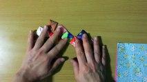 折り紙 めんこ 折り方    Origami art-eo3lAYzHzz0