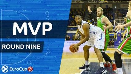 Round 9 MVP: Boris Diaw, Levallois Metropolitans