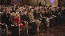Le roi et la reine assistent au concert annuel de Noël au Palais de Bruxelles
