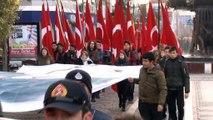 Gazi Mustafa Kemal Atatürk'ün Edirne'ye gelişinin yıl dönümü törenlerle kutlandı