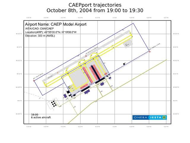 "Aéroport virtuel de l'OACI ""CAEPport"" - Modélisation IESTA"