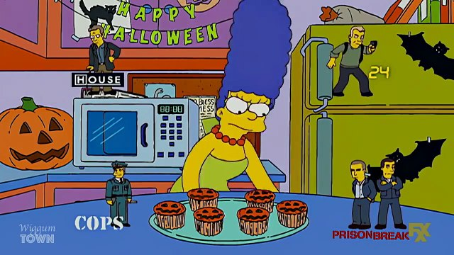 The Simpsons. Who is the killer in the family? HD