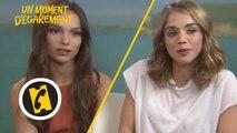"""Lola Le Lann et Alice Isaaz en plein """"moment d'égarement""""- Interview - (2015)"""