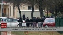 Valence : reconstitution de l'agression de militaires du dispositif sentinelle