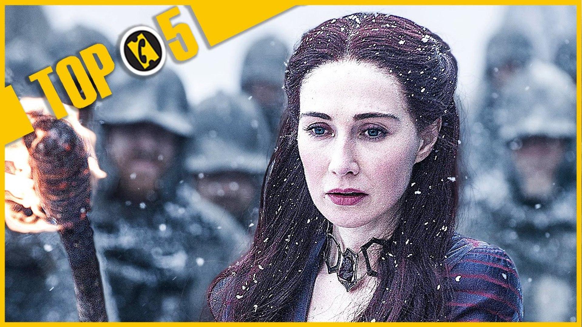 TOP 5  des PIRES scènes de Game of Thrones (S05)  ! - Allociné