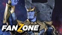 FANZONE - Avengers Infinity War : Thanos séduit la Mort ! - Allociné